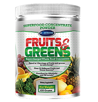 fruits, greens, super food, concentrate